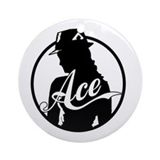 Ace Reporter Ornament (Round)