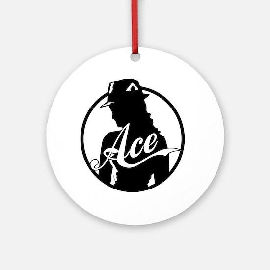 Ace Reporter Ornament (Round)