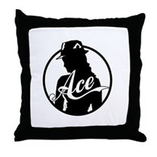 Ace Reporter Throw Pillow