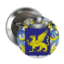 """Gardner Coat of Arms (Family Crest) 2.25"""" Button"""