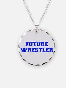 future-wrestler-fresh-blue Necklace