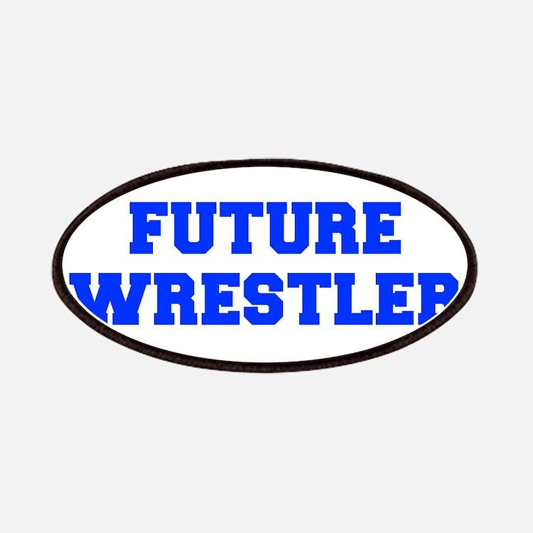 future-wrestler-fresh-blue Patches