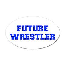 future-wrestler-fresh-blue Wall Decal
