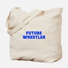 future-wrestler-fresh-blue Tote Bag