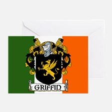 Griffin Arms Tricolour Cards (Pk of 10)