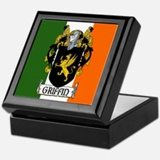 Griffin Arms Tricolour Keepsake Box