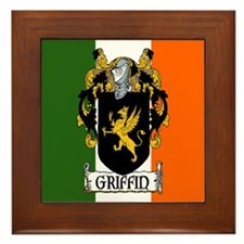 Griffin Arms Tricolour Framed Tile