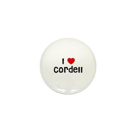 I * Cordell Mini Button (10 pack)