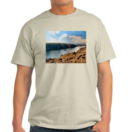 Columbia River Gorge Ash Grey T-Shirt