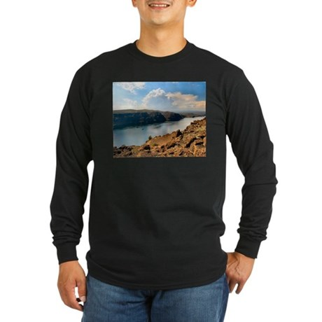 Columbia River Gorge Long Sleeve Dark T-Shirt