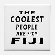 The Coolest Fiji Designs Tile Coaster