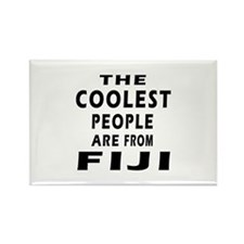 The Coolest Fiji Designs Rectangle Magnet