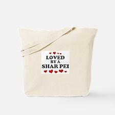 Loved: Shar Pei Tote Bag