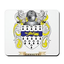 Garrett Coat of Arms (Family Crest) Mousepad
