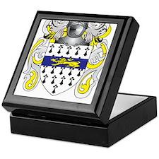 Garrett Coat of Arms (Family Crest) Keepsake Box