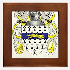Garrett Coat of Arms (Family Crest) Framed Tile