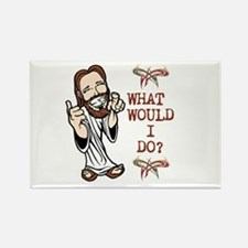 What Would Jesus Do? Rectangle Magnet