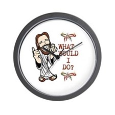 What Would Jesus Do? Wall Clock