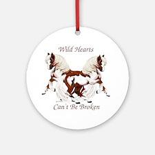 WildHearts Ponies Ornament (Round)