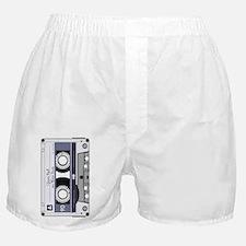 Customizable Cassette Tape - Grey Boxer Shorts