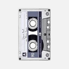 Customizable Cassette Tape - Grey 3'x5' Area Rug