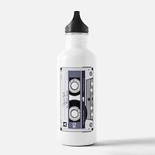 Customizable Cassette Sports Water Bottle