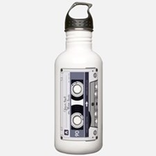 Customizable Cassette Water Bottle