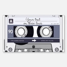 Customizable Cassette Tape - G Decal