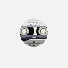 Customizable Cassette Tape - Mini Button (10 pack)