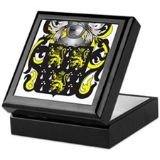Gates Coat of Arms (Family Crest) Keepsake Box