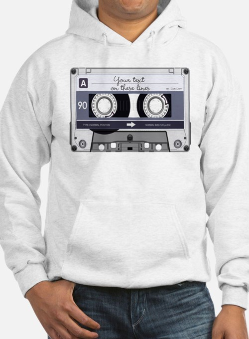 Customizable Cassette Tape - Gre Hoodie