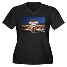 Las Vegas Plus Size T-Shirt