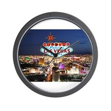 Las Vegas Wall Clock