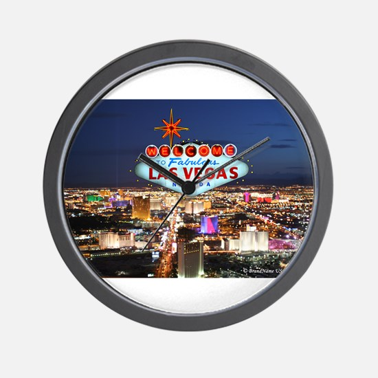 Las Vegas Wall Clock
