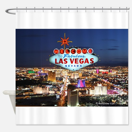 las vegas shower curtain - Bathroom Accessories Las Vegas