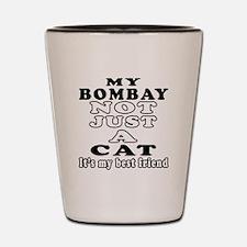 Bombay Cat Designs Shot Glass