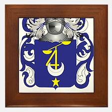 Gaudet Coat of Arms (Family Crest) Framed Tile