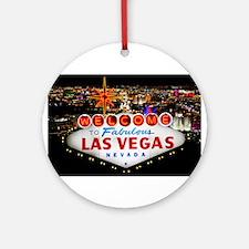 Las Vegas Ornament (Round)