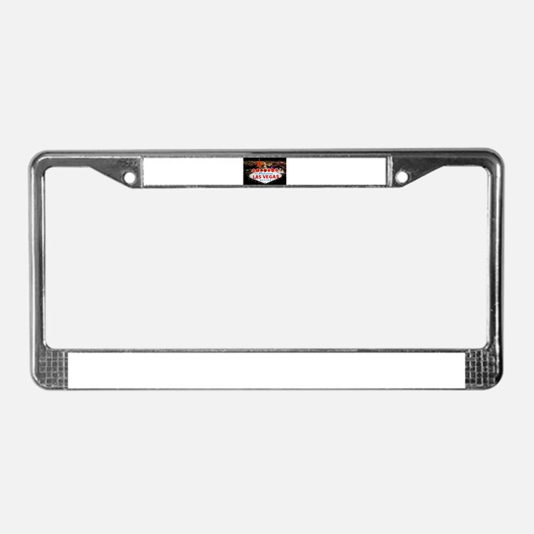 Las Vegas Personalized License Plate Frames, Covers and Holders ...