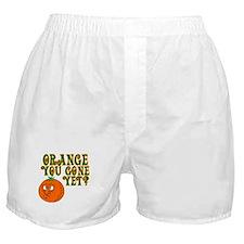 Orange You Gone Yet? Boxer Shorts