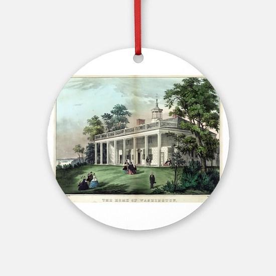 The home of Washington, Mount Vernon, VA - 1872 Ro
