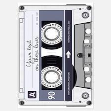 Customizable Cassette Tape - Grey Invitations