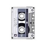 Cassette tape 5x7 Rugs