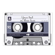 Customizable Cassette Tap Postcards (Package of 8)