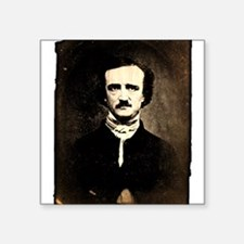 "poe-photo.png Square Sticker 3"" x 3"""