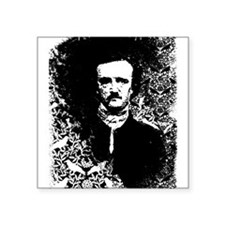 "poe-pattern_bk.png Square Sticker 3"" x 3"""