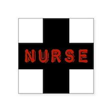 "evil-nurse.png Square Sticker 3"" x 3"""