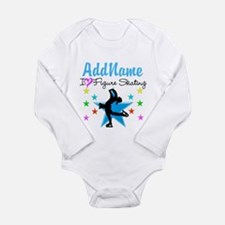 LOVE FIGURE SKATING Long Sleeve Infant Bodysuit