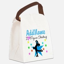 LOVE FIGURE SKATING Canvas Lunch Bag