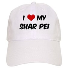 I Love: Shar Pei Baseball Cap
